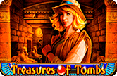 Игровой аппарат Treasures Of Tombs онлайн
