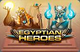 Игровой автоматический прибор Egyptian Heroes онлайн сверху зеркале казино Вулкан