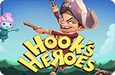 Игровой автоматический прибор Hook's Heroes на клубе Вулкан Платинум в деньги